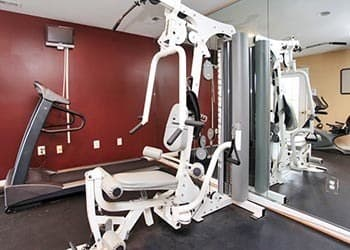 Your new fitness room at Highland Commons