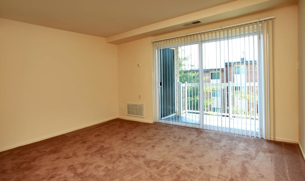 Spacious Living rooms at Allentown Apartments in Suitland, MD.