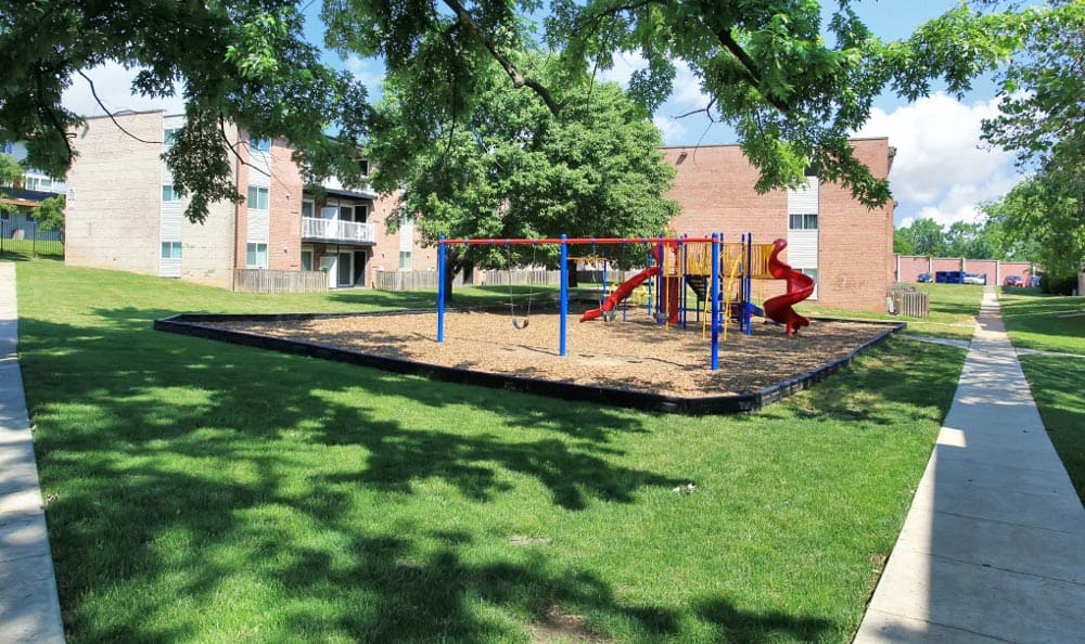 Playground at Allentown Apartments in Suitland, MD.