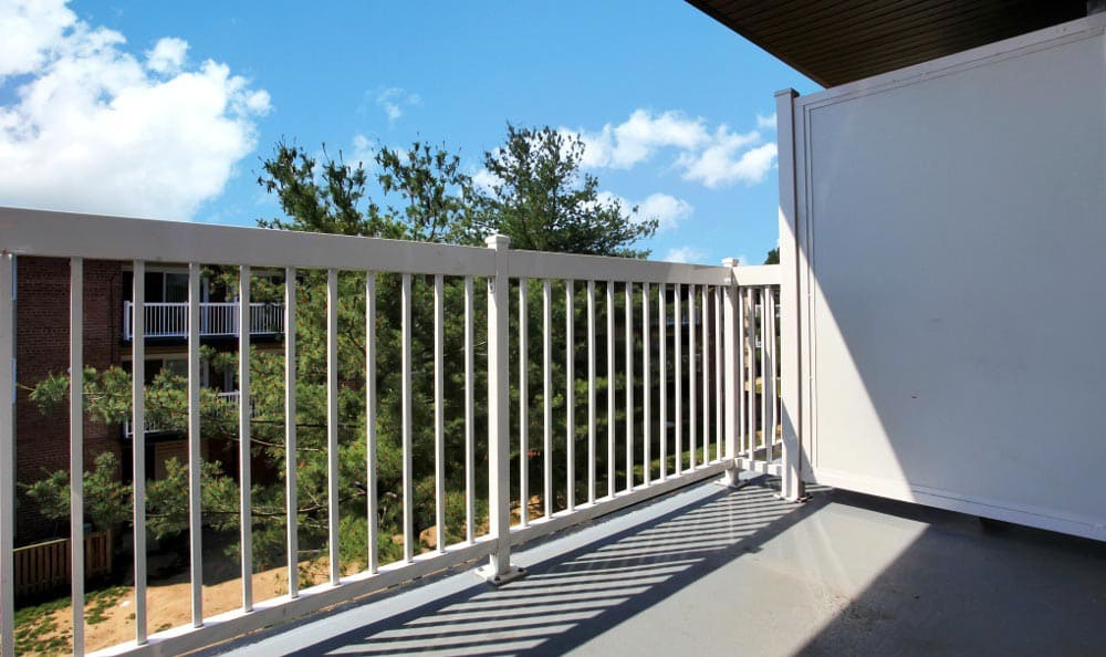 Enjoy your private balcony at Allentown Apartments in Suitland, MD.