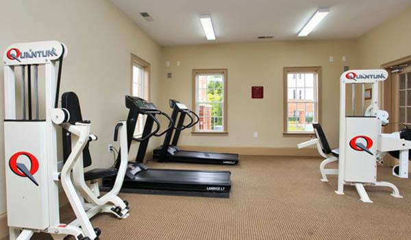 Enjoy the fitness center at Rocky Creek