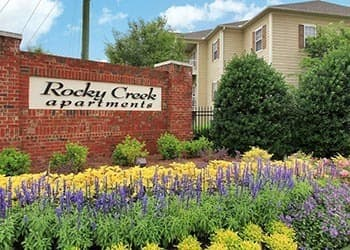 Enjoy the flowers at Rocky Creek