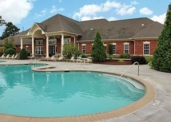 Relax in your pool and spa at Rocky Creek