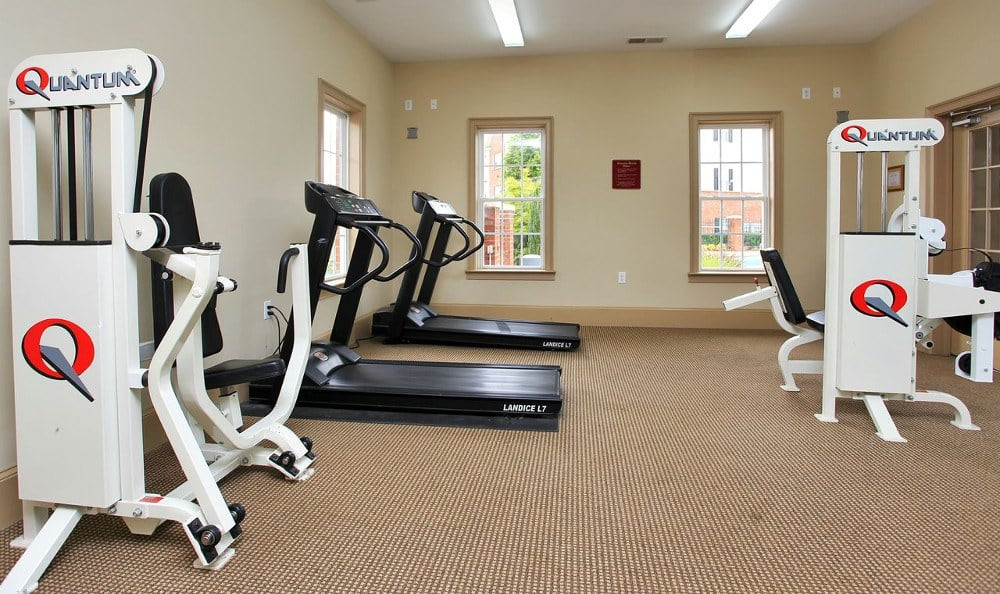 Fitness Center at Rocky Creek in Greenville, SC.