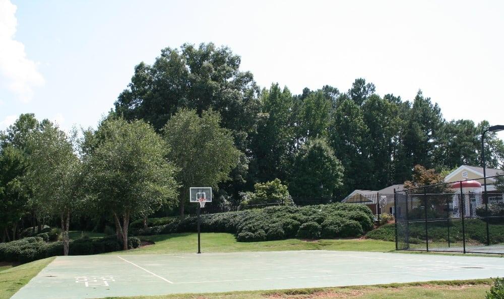 Basketball Court At Magnolia Creste Apartments in Dallas, GA