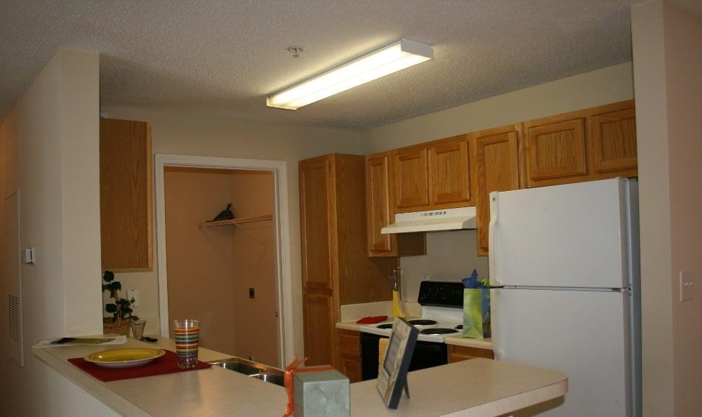 Kitchen At Magnolia Creste Apartments in Dallas, GA