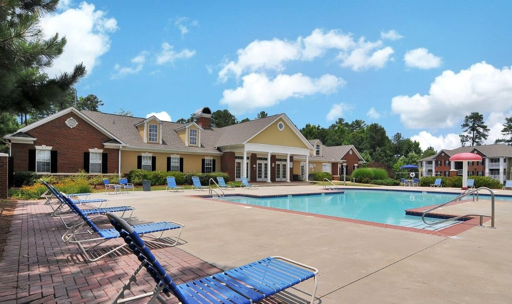 Pool At Our Apartments In Lawrenceville, GA
