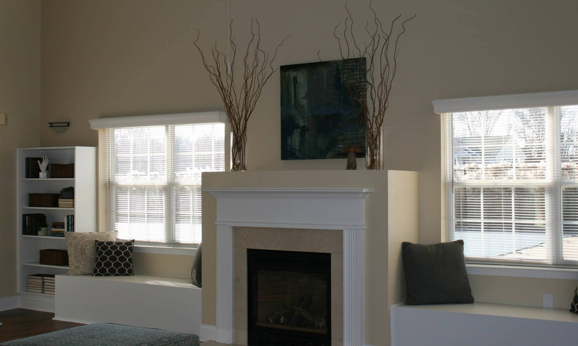 Glen Creek Apartments has fireplaces