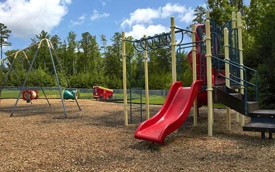 Playground equipment at Broadwater Townhomes
