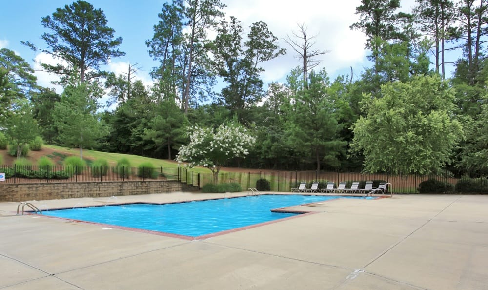 Pool At Our Columbus, GA Apartment Rentals