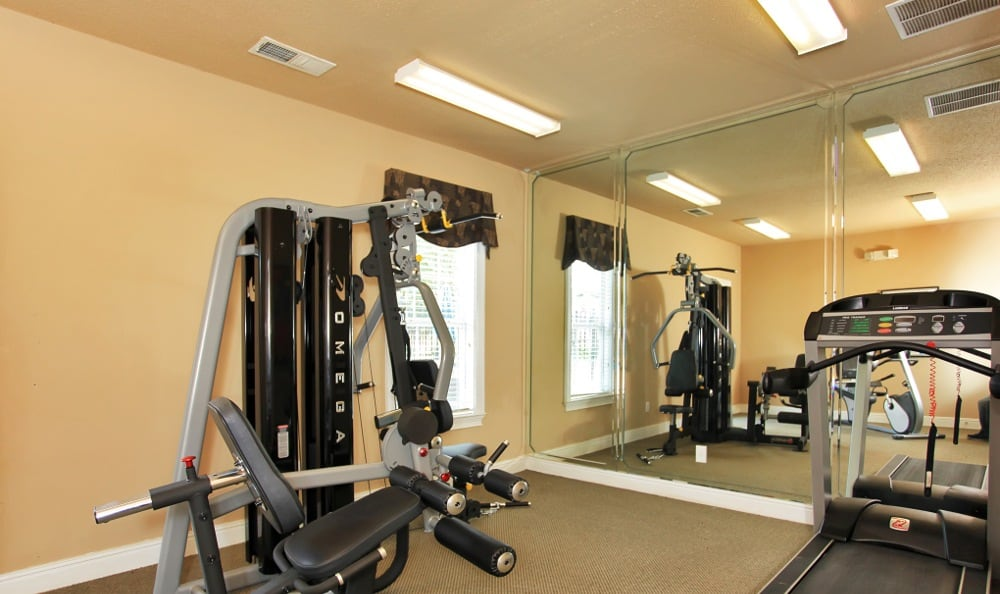 Weight Room At Our Columbus, GA Apartment Rentals