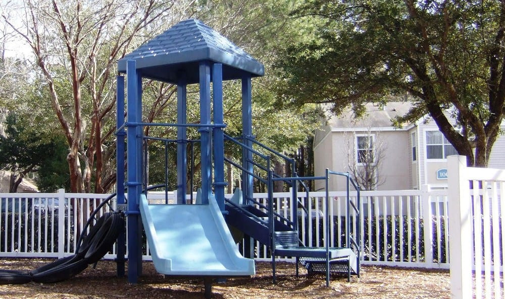 A playground for the kids at Savannah Sound Apartments in FL.