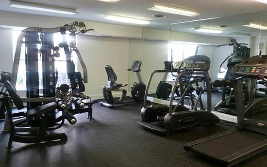 Fitness center at Glen Ridge Commons