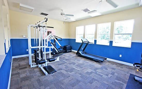 Fitness center at Grande Court at Boggy Creek