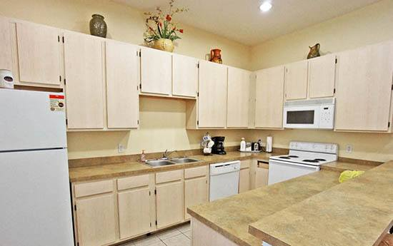 Kitchen at apartments in FL