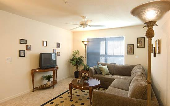 Living room at apartments in Kissimmee