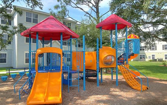 Playground at Grande Court at Boggy Creek