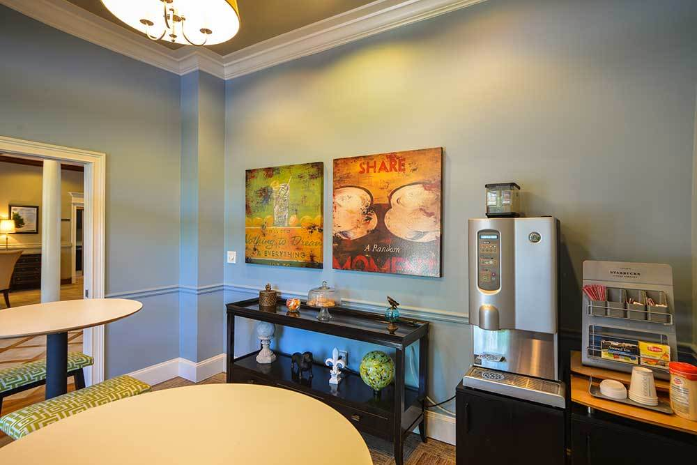 Need a refreshment? Dakota Mill Creek has some for you in the lounge.