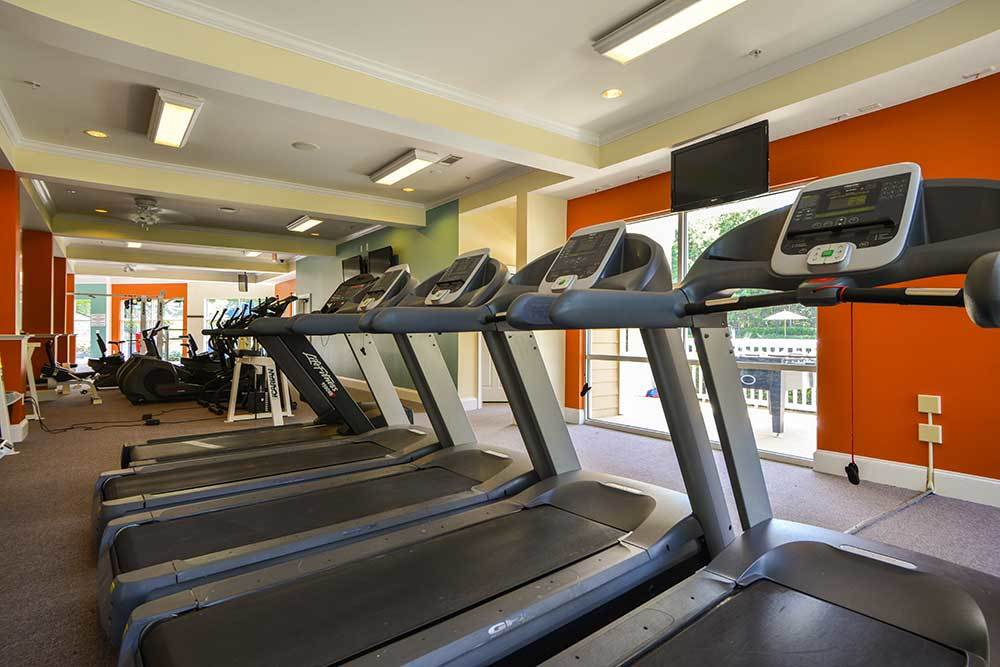 treadmills are provided for your cardio at Dakota Mill Creek.