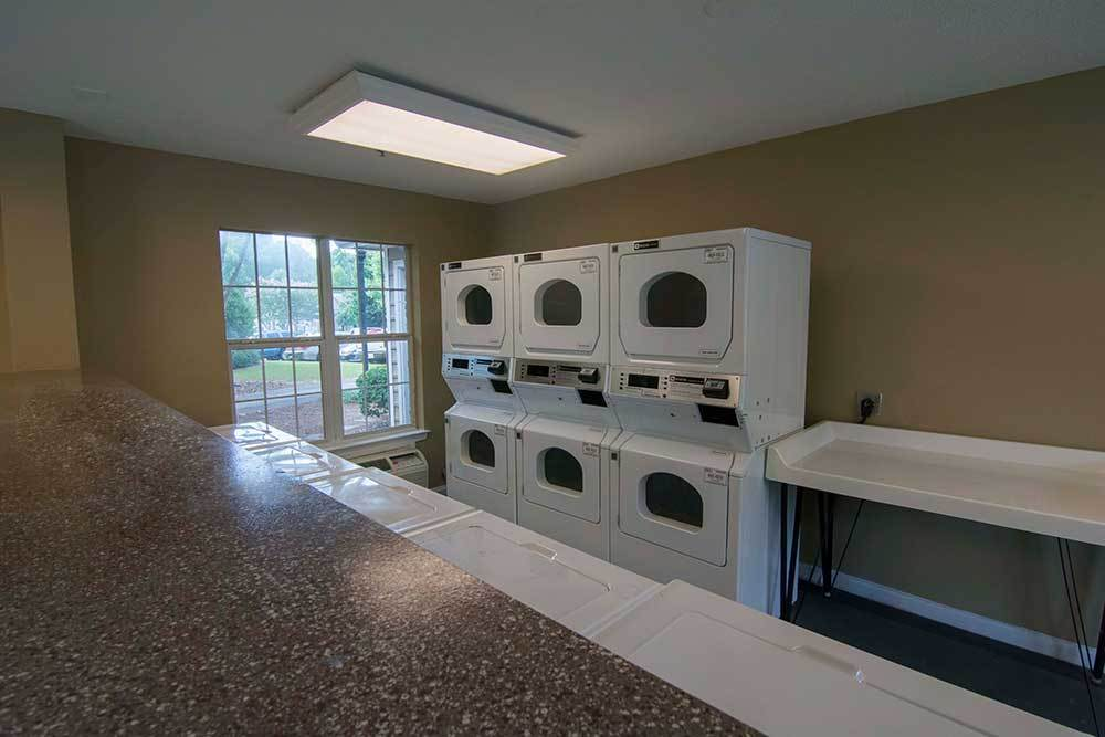 On-site laundry room for convenience at Chroma Park.