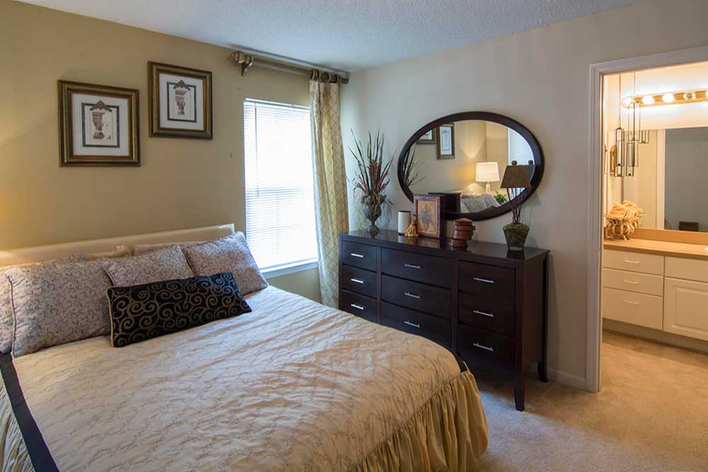 A wonderful and comfortable bedroom at Chroma Park.