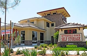 Visit our Butterfield Ranch Self Storage location