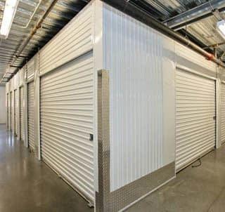 San Diego Self Storage white storage units
