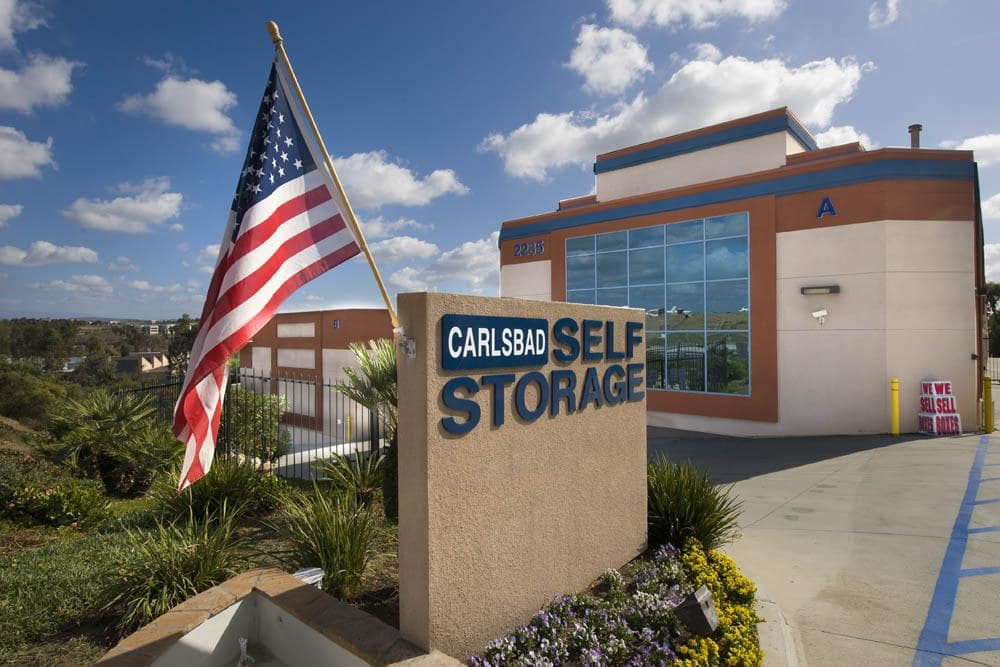 External view of Carlsbad Self Storage