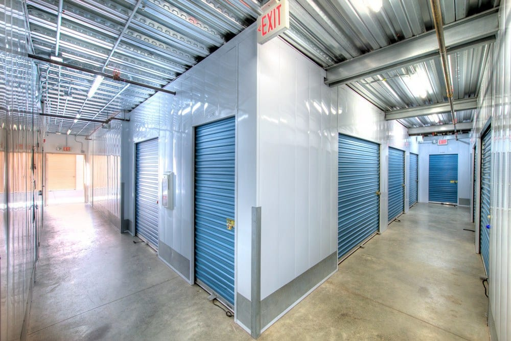 Clean and safe storage units at Carlsbad Self Storage in Carlsbad, CA