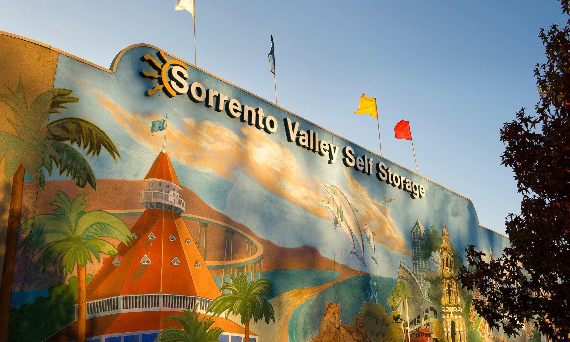 Visit us at Sorrento Valley Self Storage for the best self storage in San Diego.