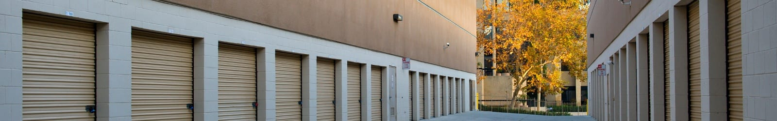 Photos of the facility at Sorrento Valley Self Storage
