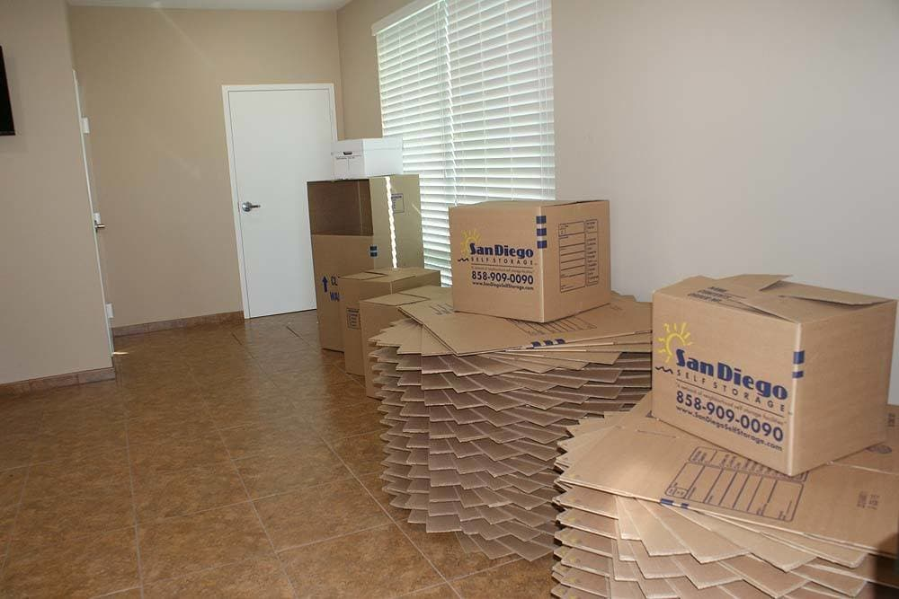 Moving Supplies are available at Smart Self Storage of Eastlake in Chula Vista, CA
