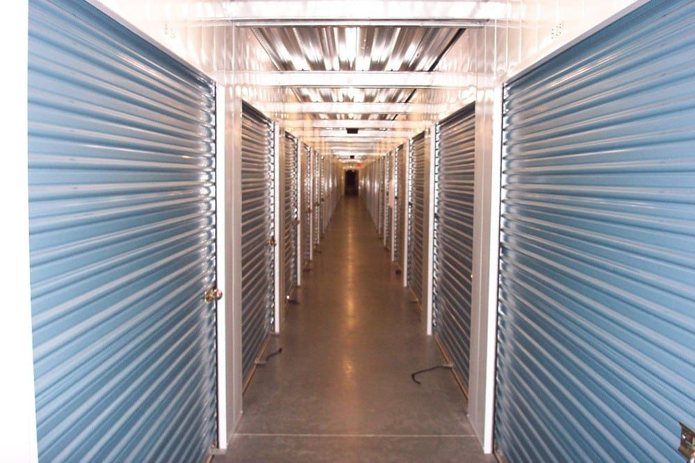 Interior storage units at Smart Self Storage of Eastlake in Chula Vista, CA