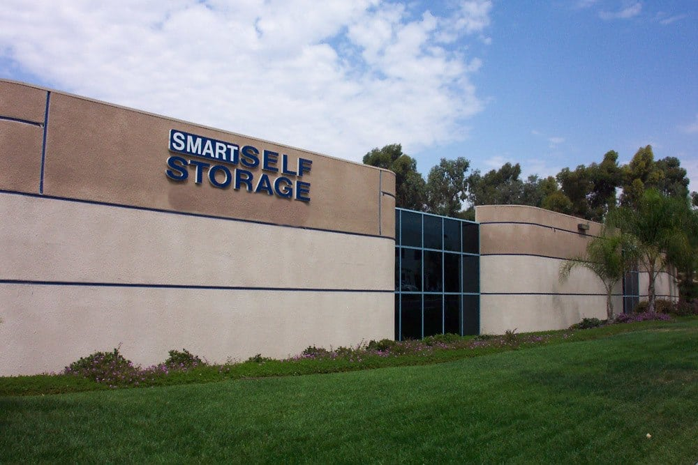 Multi-level storage units at Smart Self Storage of Eastlake in Chula Vista, CA