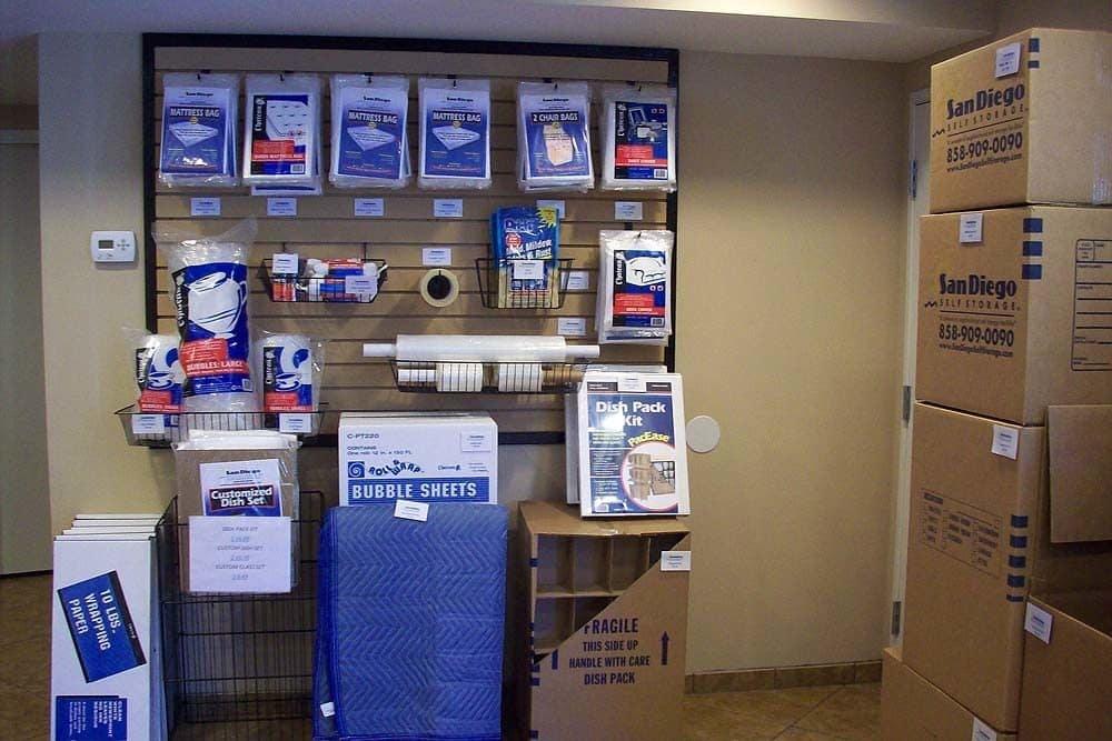 Front desk and sales at Encinitas Self Storage in Encinitas, CA