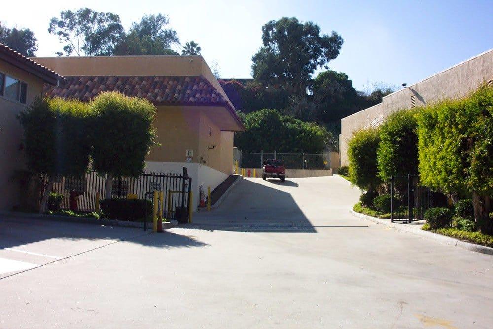 Front Gate at Encinitas Self Storage in Encinitas, CA
