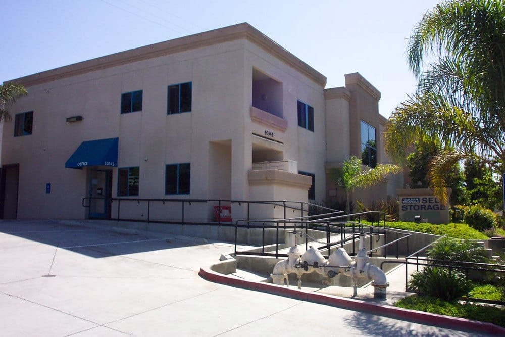 Clean and safe storage units at Golden Triangle Self Storage in San Diego, CA