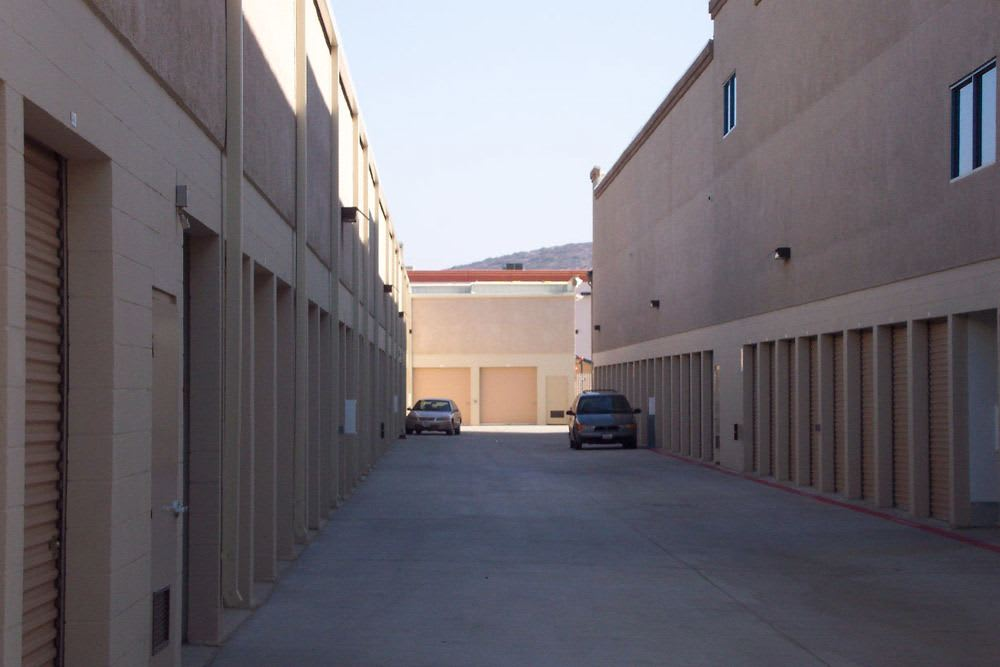 Clean and safe storage units at Jamacha Point Self Storage in Spring Valley, CA