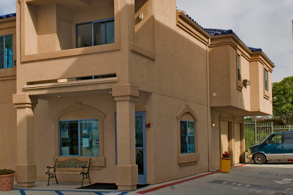 Exterior of the Office at National/54 Self Storage in National City, CA