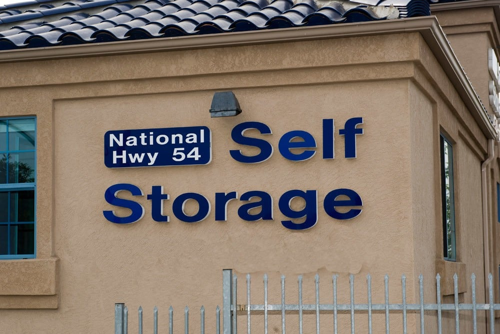 External view of National/54 Self Storage