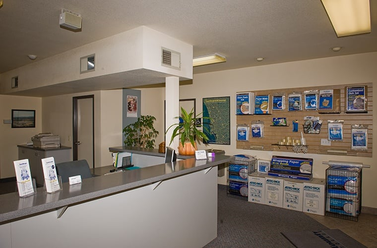 You'll find that our exterior drives and storage units are as immaculate as our office here at North County Self Storage in Escondido.