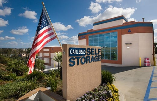 Front of office for Carlsbad Self Storage