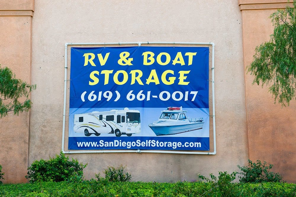 RV and boat storage is available at Otay Crossing Self Storage in San Diego, CA.