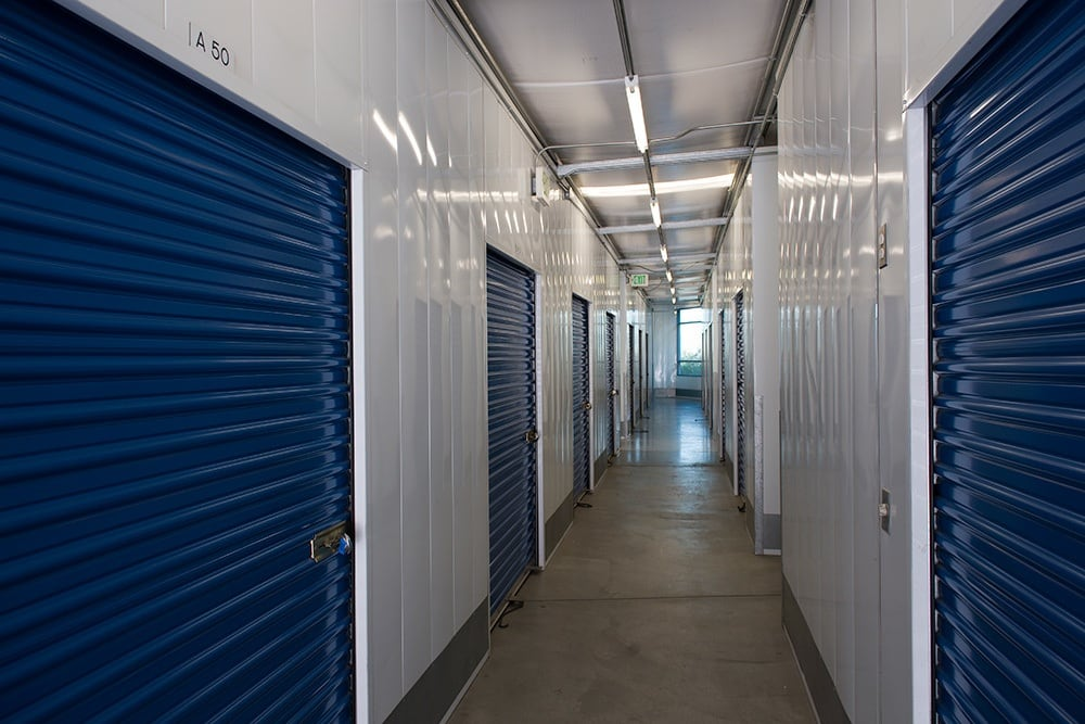 Clean and safe storage units at Otay Crossing Self Storage in San Diego, CA.