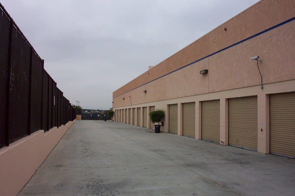 Exterior storage units at Otay Mesa Self Storage in San Diego, CA