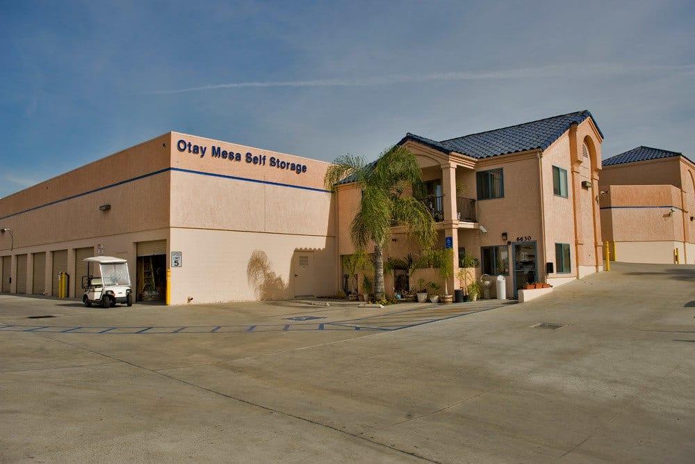 Storage facade at Otay Mesa Self Storage in San Diego, CA