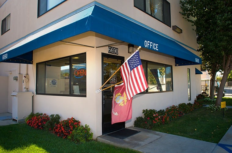Come see us with any questions about storage at the office at Sorrento Mesa Self Storage in San Diego, CA.