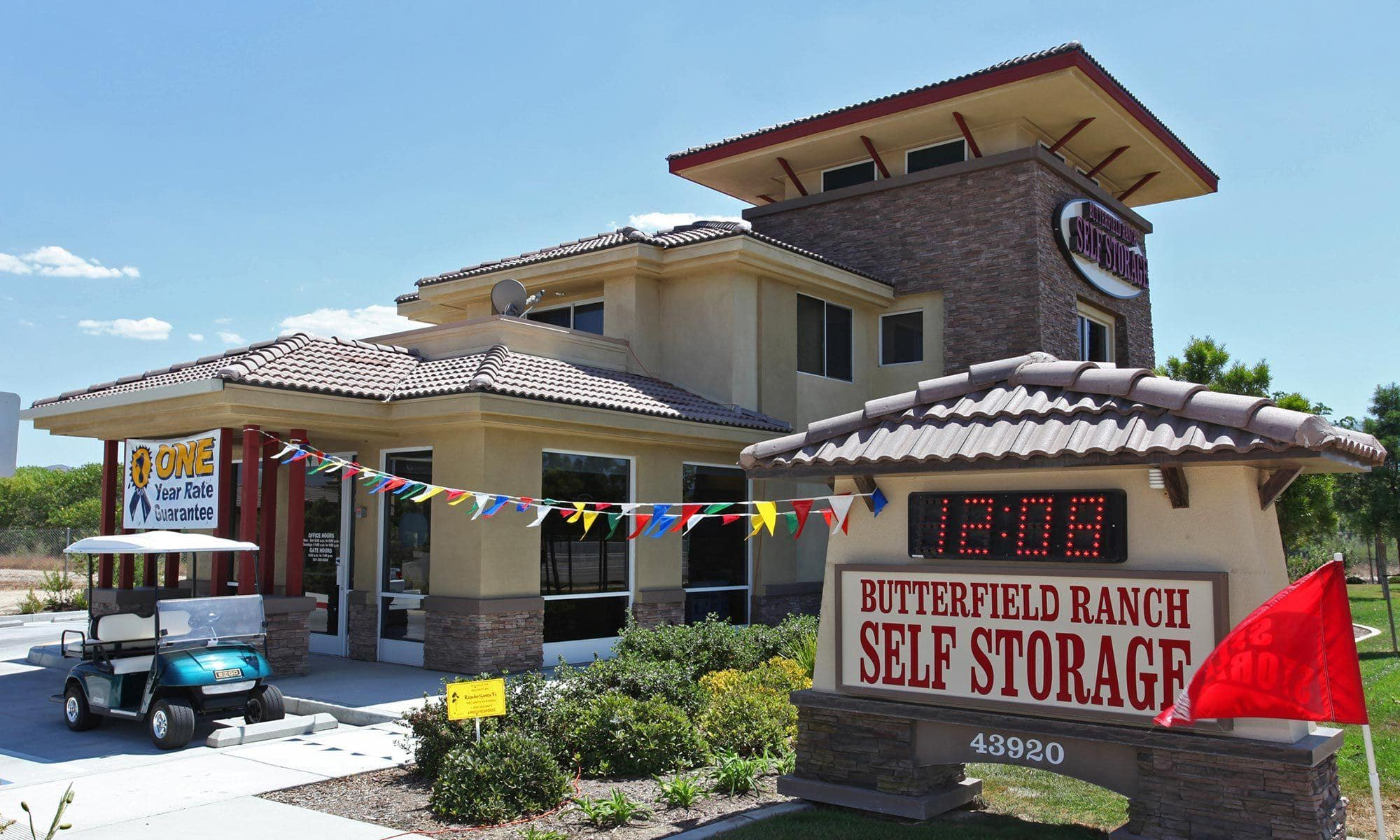 San Go Self Storage Is Home Of The 1st Year Price Guarantee
