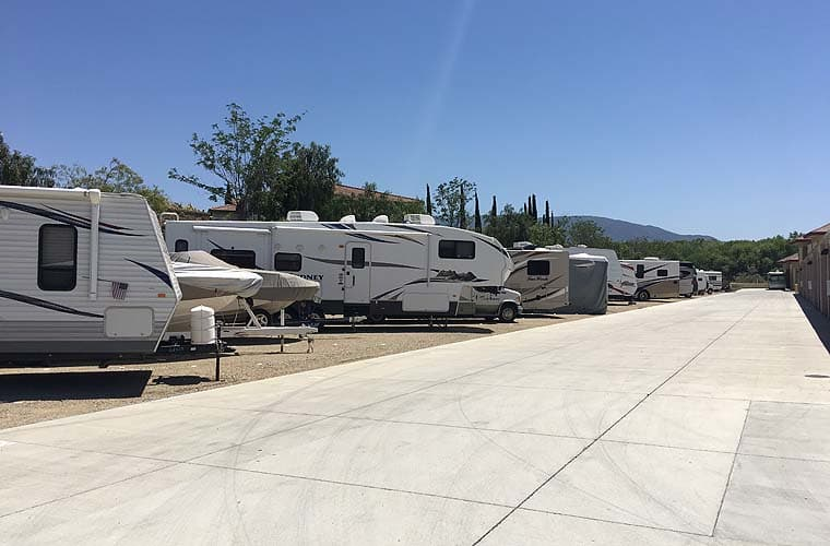 RV and boat storage is available at Butterfield Ranch Self Storage in Temecula, CA.