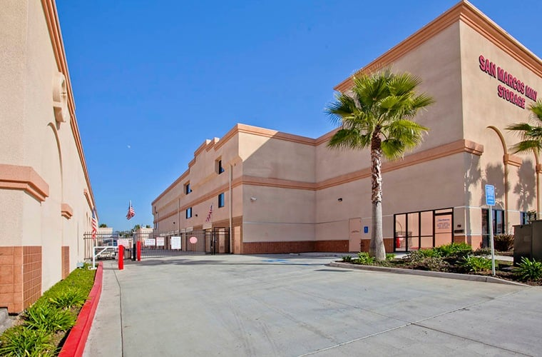 We have clean driveways, aisles, and storage units at San Marcos Mini Storage in San Marcos, CA.